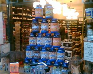 Kosttillskott, speciellt aminosyror gillar jag.